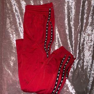 Red VS pink sweats